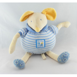 Doudou musical lapin Lise et Lulu Moulin Roty