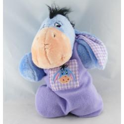 Doudou Bourriquet bleu tres clair Disney Nicotoy