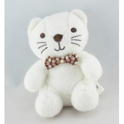 Doudou Chat blanc Luminou