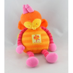 Doudou Boule LOUNA l'Abeille Orange Moulin Roty