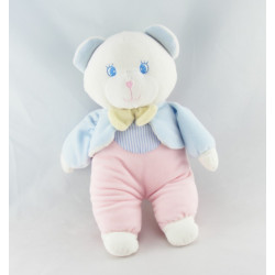 Doudou ours rose Luminou JEMINI