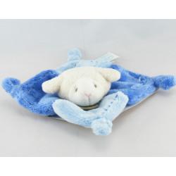 Doudou et compagnie plat mouton bleu Gaston NEUF