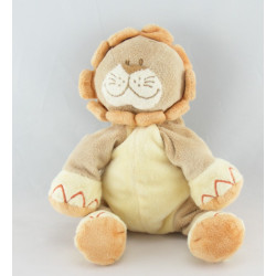 Doudou lion beige orange jungle BENGY