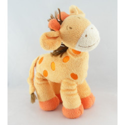 Doudou Girafe orange NICOTOY