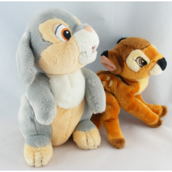 Peluche Bambi et Pan-pan DISNEY NICOTOY