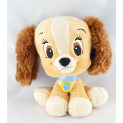 Doudou bébé Belle chien de La Belle et le Clochard Disney
