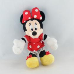 Peluche Minnie robe rouge à pois DISNEY NICOTOY
