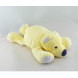 Doudou ours jaune couché MARESE