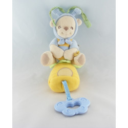 Doudou musical Ours déguisé en Abeille Nature Bearries de Fisher Price