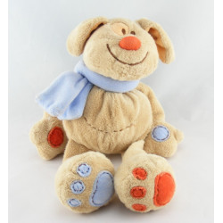 Doudou chien lapin beige orange KIABI