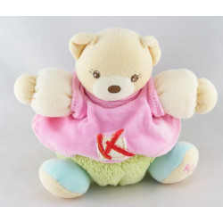 Doudou ours patapouf pull rose K sporty KALOO
