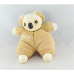 Doudou koala blanc beige BEBISOL