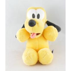 Doudou chien Pluto collier vert DISNEY NICOTOY