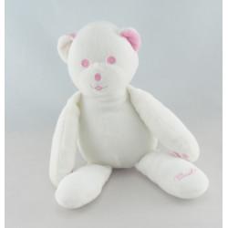 Doudou ours blanc Musti de Mustela