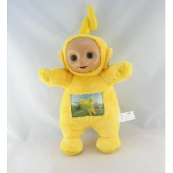 Doudou peluche TELETUBBIES jaune Laa-laa lala