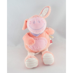 Doudou Ane cheval lapin rose TEX
